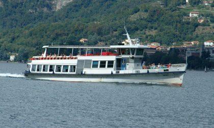 Battelli sul lago: capienza ridotta al 50% e servizio garantito per traghetti, aliscafo e primo bacino