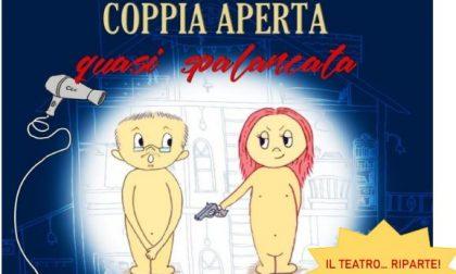 """Con """"Coppia aperta, quasi spalancata"""" il teatro riparte"""