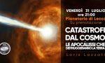 Catastrofi dal Cosmo: le apocalissi che distruggeranno la terra. Se ne parla al Planetario