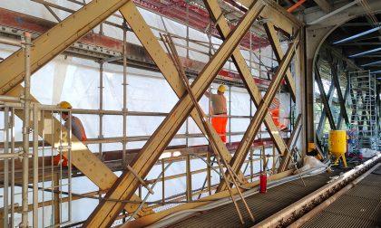 Ponte di Paderno: dal 14 settembre via libera alla circolazione dei treni
