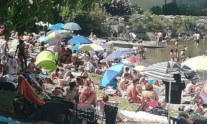 Sovraffollamento sui lidi e spiagge di Lecco: esposto in Procura FOTO