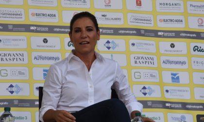 Paola Turci sul palco del Lecco Film Fest