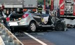 Tragedia in Brianza, scontro frontale con un camion: muore 27enne, grave 26enne FOTO E VIDEO