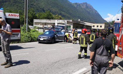 Carambola sulla Provinciale: coinvolte due auto e un furgone