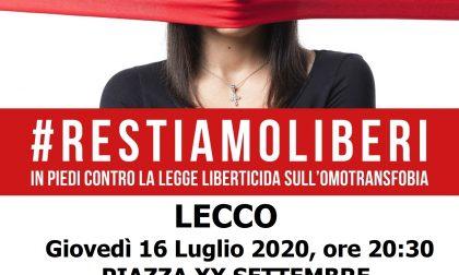 """Fratelli d'Italia scende in piazza per dire """"no"""" alla Legge contro l'omotransfobia"""