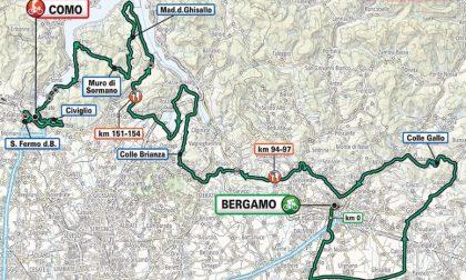 Giro di Lombardia 2020 eccezionalmente a Ferragosto: la partenza da Bergamo e passaggio in tanti Comuni lecchesi