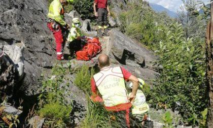 Incidente al Sass del Negher: grave alpinista 26enne