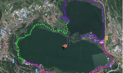 Al lavoro per completamento dell'anello ciclopedonale attorno al lago di Annone
