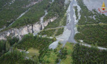 Nubifragio e frane in Valtellina: danni e sfollati