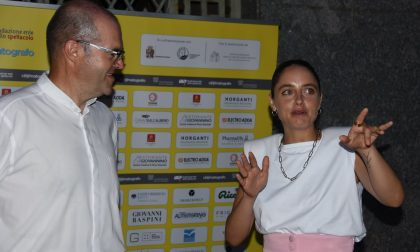 Matide Gioli, stella tra le stelle del Lecco Film Fest FOTO