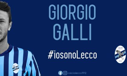 Galli è bluceleste: nuovo rinforzo nella Calcio Lecco 1912