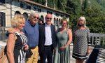 Vip sul Lago: Vittorio Sgarbi in visita a Villa Monastero FOTO E VIDEO