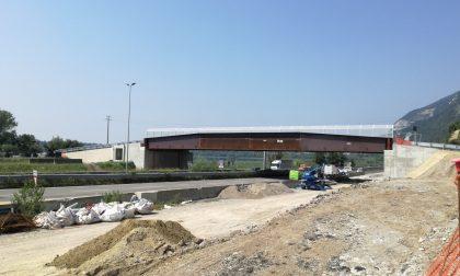Odissea di Isella alla fine: lunedì apre il nuovo ponte