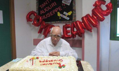 Valmadrera, centenario nella Casa di Riposo Opera Pia Magistris