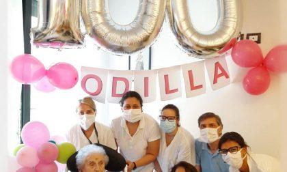 Doppietta nella RSA Borsieri: due centenari festeggiati. Auguri a Odilla e Loesia!
