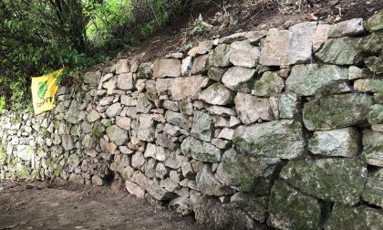 """Concluso in campo di volontariato """"Pietra su pietra"""" di Legambiente"""