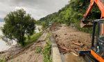 Smottamenti e colate di fango, la Statale 340 bloccata nell'Alto Lario FOTO