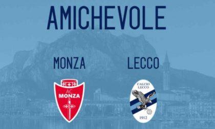 Calcio Lecco: domani i blucelesti affrontano il Monza in amichevole