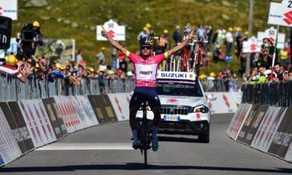 Giro d'Italia Under 23, Pidcock trionfa in maglia rosa sullo Spluga