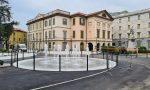 Nuova piazza Mazzini a Lecco: finiti i lavori, riapertura oggi  FOTO
