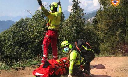 Domenica impegnativa per il Soccorso Alpino: fungiatt precipita per 10 metri