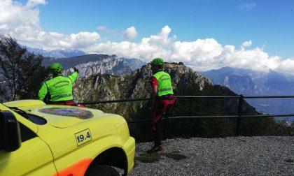 Tragedia in montagna: 82enne precipita e muore sul Moregallo