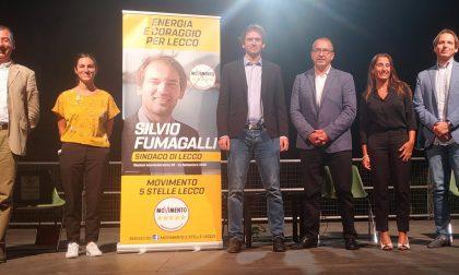 Elezioni Lecco 2020: Fumagalli sul palco con i pentastellati per presentare il programma