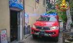 Principio di incendio al bar domato dai Vigili del Fuoco