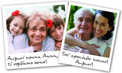 La Festa dei Nonni  sta arrivando! Fai un augurio speciale con il Giornale di Lecco