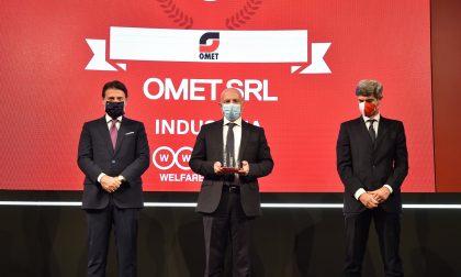 Welfare Index PMI 2020: OMET premiata dal Presidente del Consiglio Giuseppe Conte