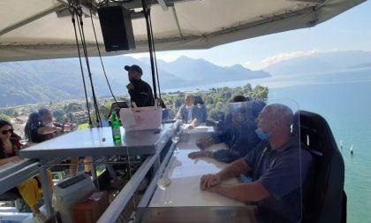 Primo pranzo da brividi con Dinner in the Sky FOTO