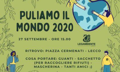 Domenica a Lecco la 28esima edizione di Puliamo il Mondo