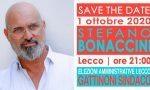 Il Governatore dell'Emilia Romagna Bonaccini a Lecco per sostenere Gattinoni