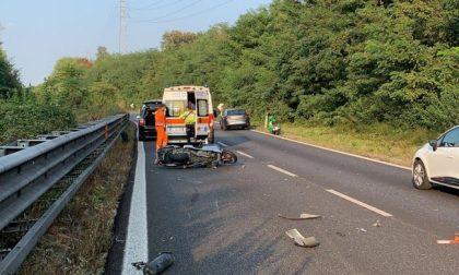 Incidente sulla Statale 36, traffico in tilt verso Lecco