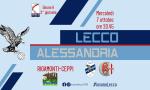 Stasera tifosi allo stadio: parziale riapertura del Rigamonti Ceppi per Lecco-Alessandria