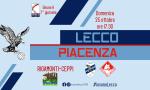 La Calcio Lecco cerca di nuovo il sorriso con il Piacenza