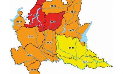 Maltempo: allerta meteo elevata a codice rosso sul Lecchese