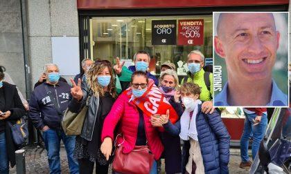 Mauro Gattinoni sindaco: la gioia nella coalizione di centrosinistra esplode anche sui social