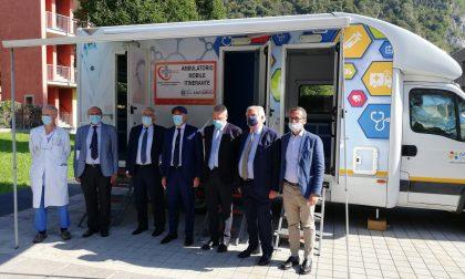 L'ambulatorio itinerante si ferma a Oggiono