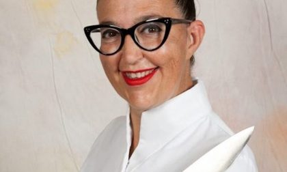 La Chef Cinzia Fumagalli  da Rai Uno al al CFPA  di Casargo