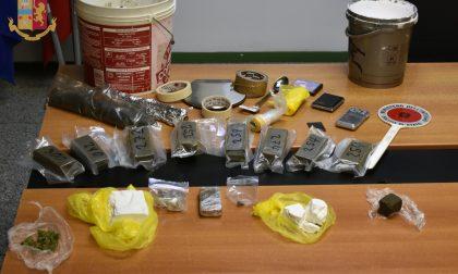 Droga in un box a Germanedo: arrestati due spacciatori a Lecco