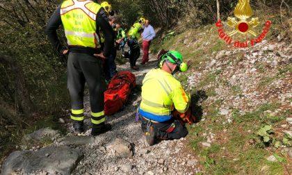 Incidente sul sentiero: escursionista portata in ospedale in elicottero