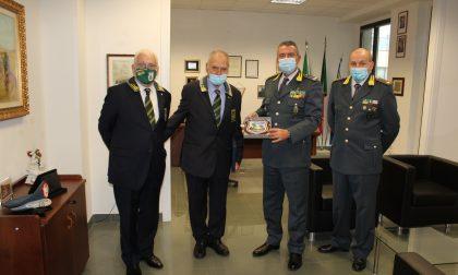 Guardia di Finanza: il Comandante regionale vista il comando di Lecco