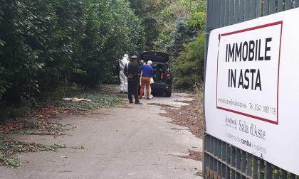 Trovato un cadavere in Villa Ciardi FOTO