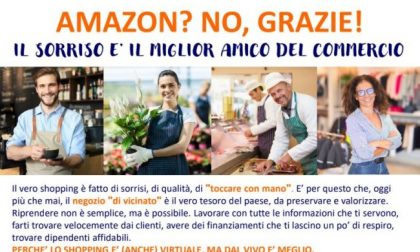 """""""Amazon? No grazie"""". Parte l'iniziativa per valorizzare i negozi di vicinato"""