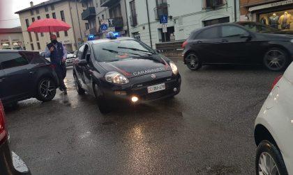 Scontro auto-moto, ferito un giovane e Provinciale bloccata FOTO