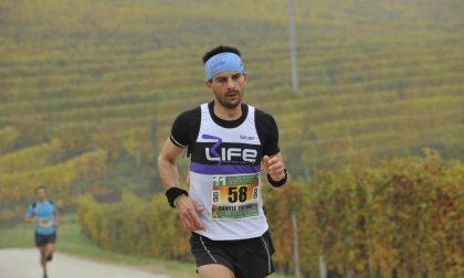 Il lecchese Daniele Tentori in luce all'Ecomaratona del Barbaresco