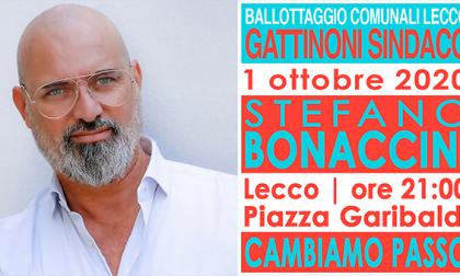 Stasera Bonaccini a Lecco per chiudere la campagna elettorale di Mauro Gattinoni