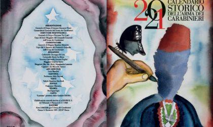Calendario dei Carabinieri 2021, un omaggio a Dante, Pinocchio e le capitali d'Italia FOTO