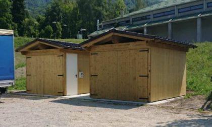 Le casette ecologiche per la raccolta differenziata  accessibili anche agli affittuari di seconde case